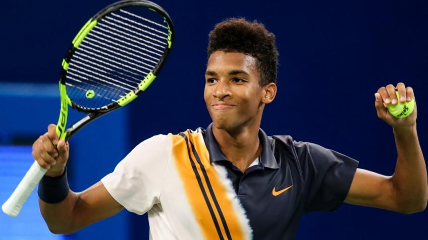 "Auger-Aliassime about Lyon: ""I want to win it. I came here for that."""