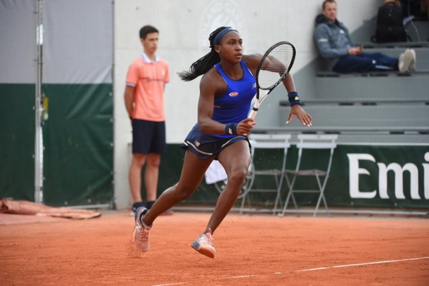 15-year-old Cori Gauff writes history at Roland Garros as the youngest..