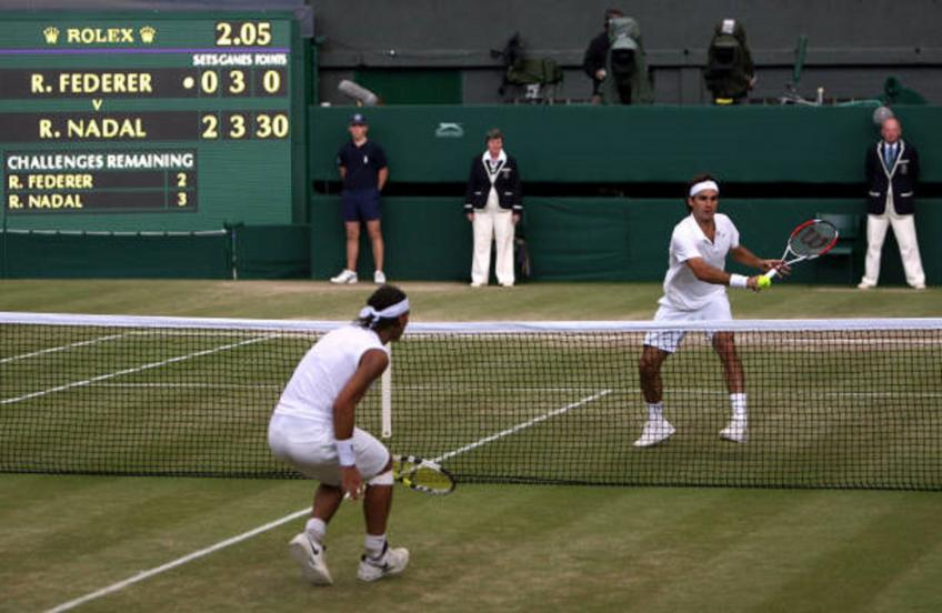 Roger Federer vs Nadal 2008 Wimbledon is the best match ever - Guy Forget