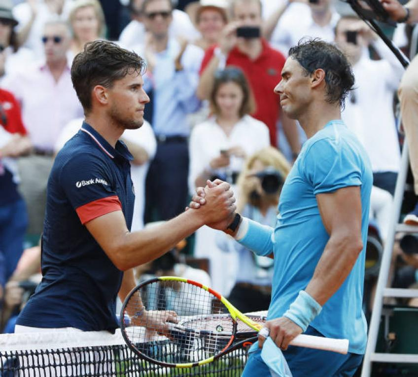 Dominic Thiem:'Rafael Nadal is huge favorite, then there are six players..'