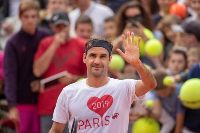 Roger Federer: 'I was impressed with Auger-Aliassime's work ethic'