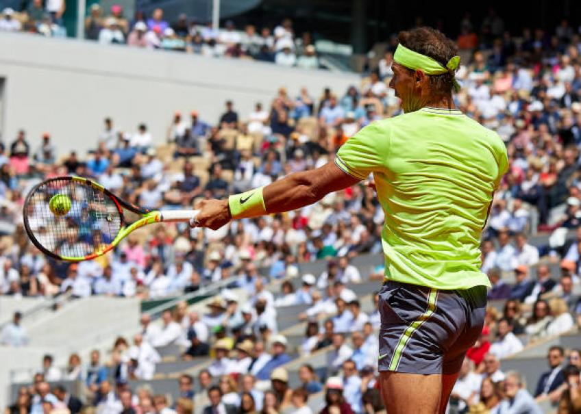 I was very impressed with the way Rafael Nadal hit, says Croft