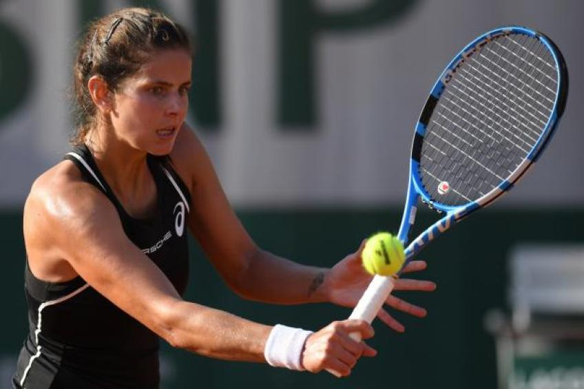 Julia Goerges: 'You just have to get through it'