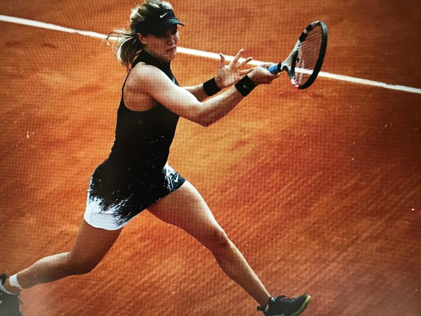 Sweet return but sour results for Eugenie Bouchard at Roland Garros