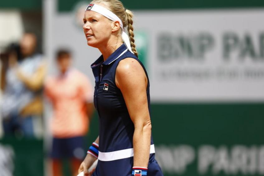 French Open 2019: Kiki Bertens retires from French Open second-round match
