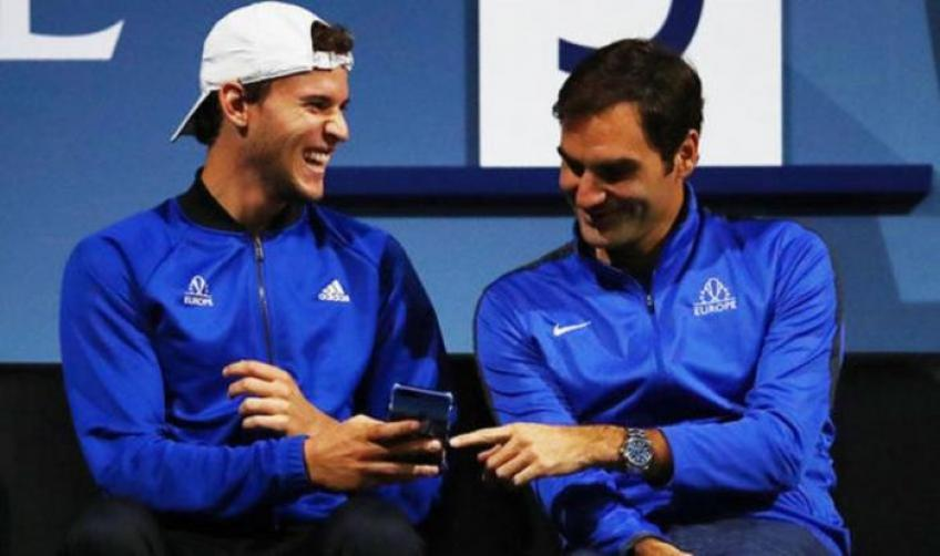 Dominic Thiem not sure to play Laver Cup with Roger Federer yet
