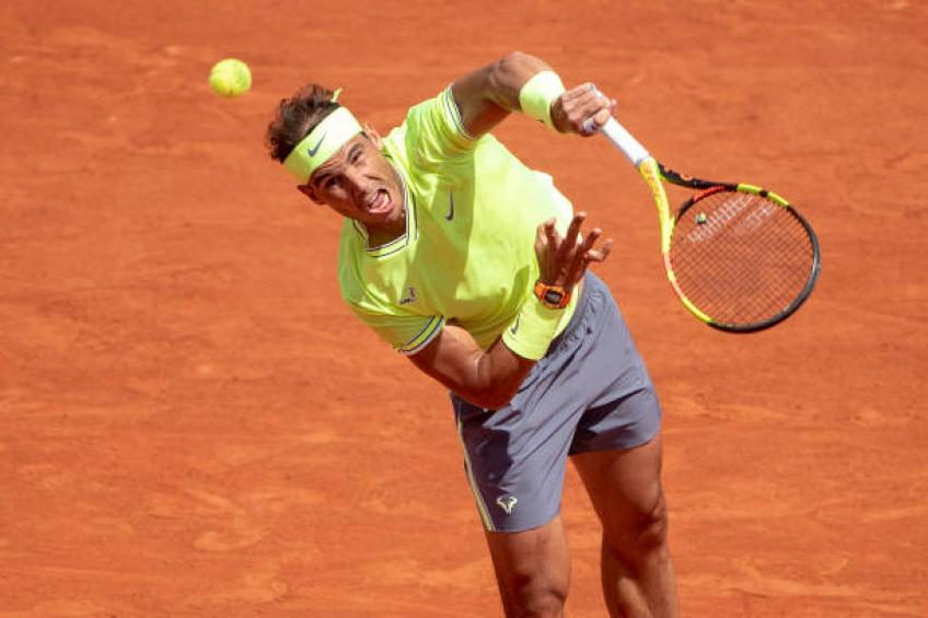 Rafael Nadal was unbeatable in first two sets against Maden - Wilander