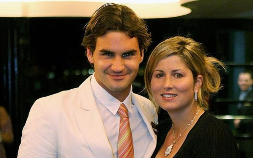 Roger Federer's success is half thank to wife Mirka, says Rosset