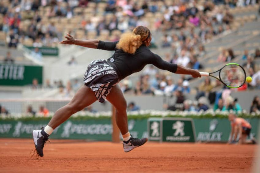 WTA Roland Garros: Sofia Kenin downs Serena Williams in straight sets