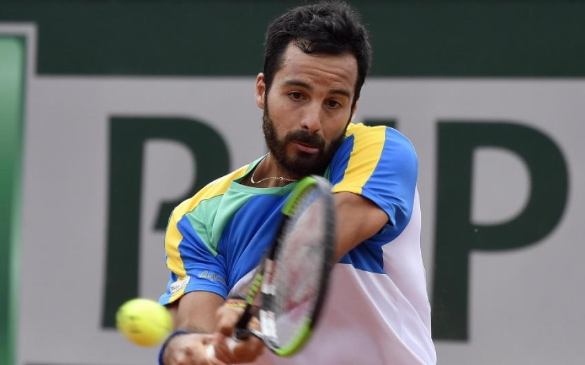 Who is Salvatore Caruso, the player who challenged Djokovic in Paris?