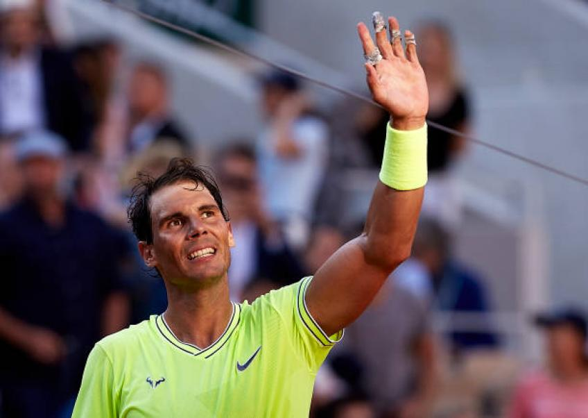 Nadal wins 90th Roland Garros match to reach quarter-finals
