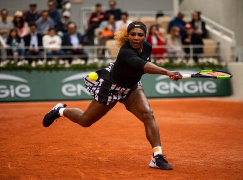 Serena Williams ambushed by Sofia Kenin at French Open
