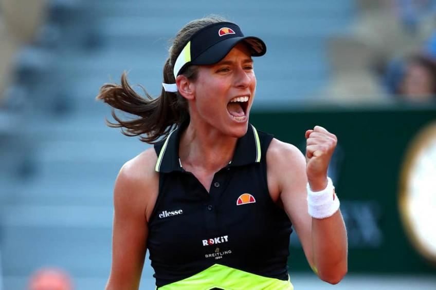 Johanna Konta in French Open quarter-final after ruthless run