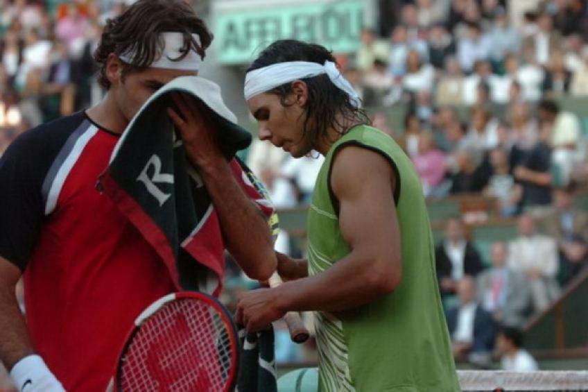 Rafael Nadal Warns Roger Federer Ahead of French Open Clash