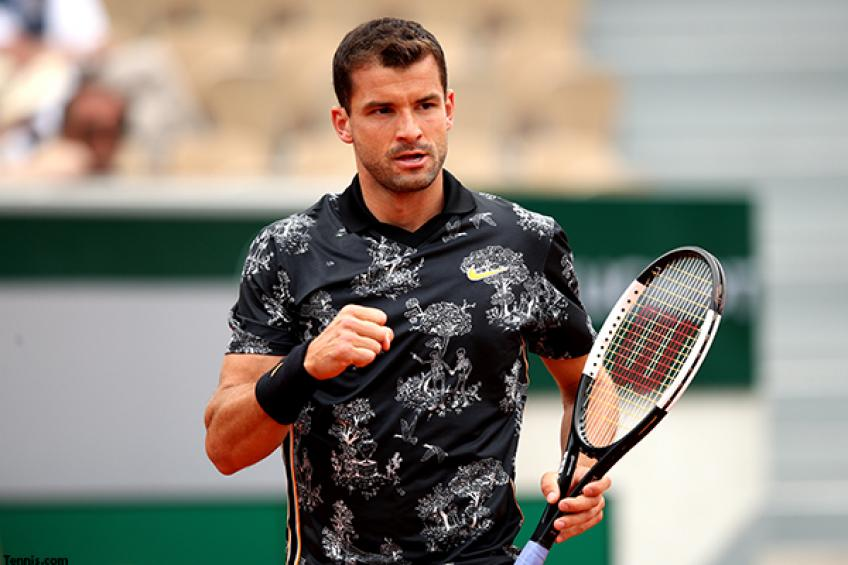 There's plenty of positives to take from RG for Grigor Dimitrov