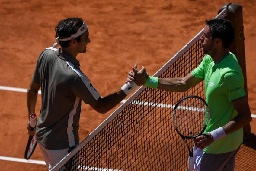 Mayer: 'If we played 20 sets, Roger Federer would have won all of them'