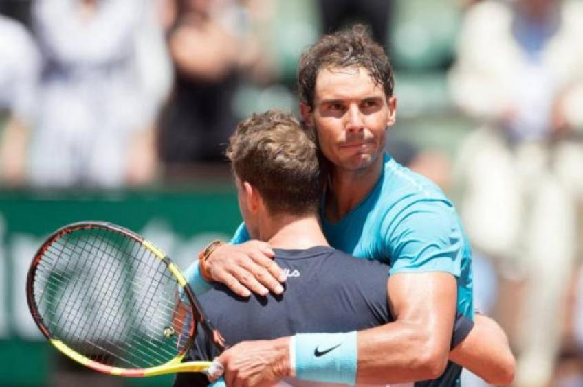 Diego Schwartzman Rafael Nadal Is The Best Footballer On Tennis Tour