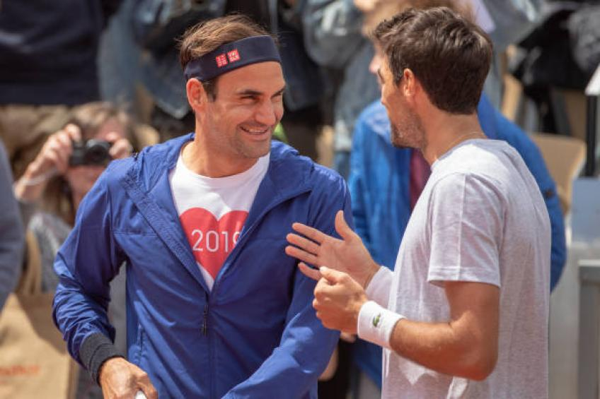 Chardy: I do not like Rafael Nadal's game. Roger Federer is the greatest