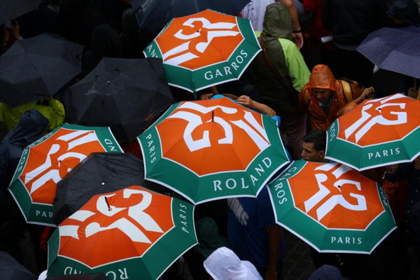 Roland Garros - Rain ruins Wednesday's action, introducing packed two days