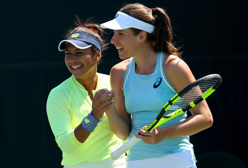 Heather Watson: It's really good to see Konta doing well