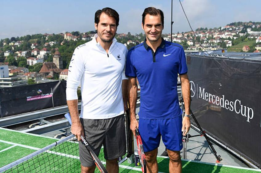 Haas praises ATP Stuttgart: Roger Federer played for three years in a row