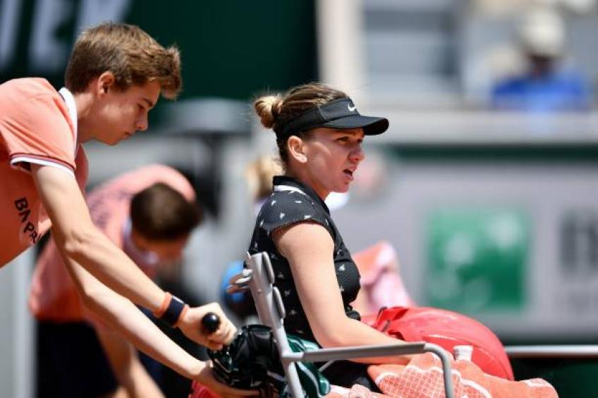Simona Halep: We were all day on couches when it rained