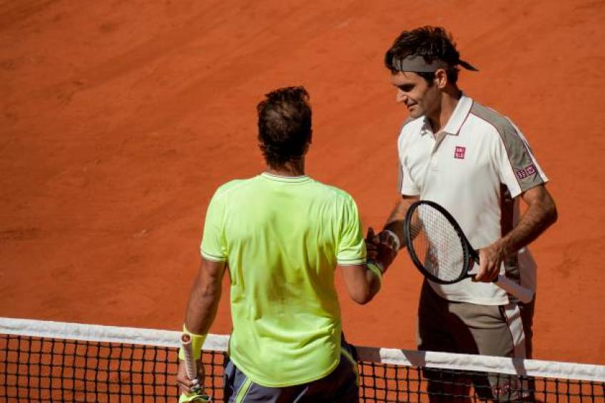 Roger Federer: At some point against Nadal you're just happy to make shots
