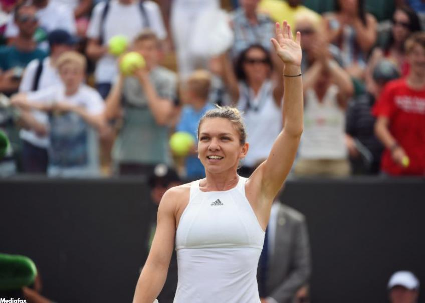 Simona Halep back home aiming at Wimbledon title