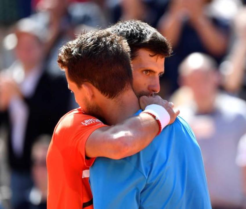 Djokovic-Thiem not getting packed crowd was bizarre - Pundit