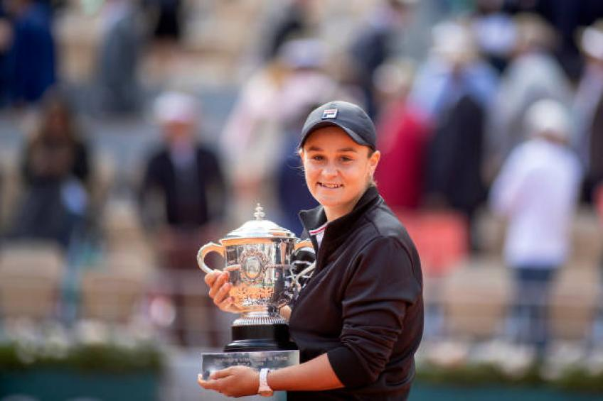 Ashleigh Barty: 'I am speechless after French Open title'