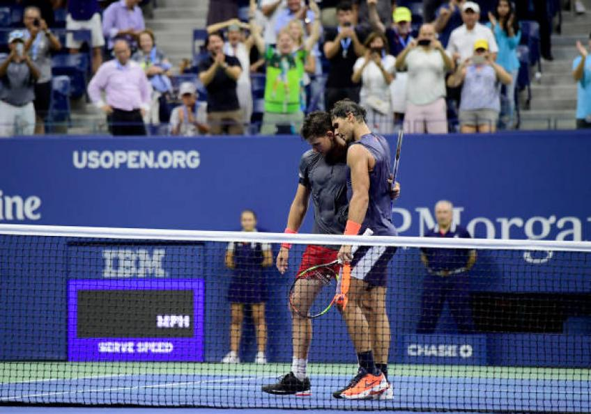 US Open match vs Rafael Nadal was the turnaround for Dominic Thiem - Evert