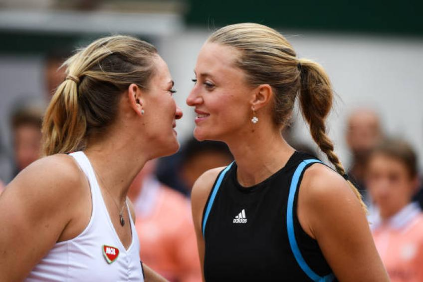 Mladenovic and Babos claim women's doubles title in Paris