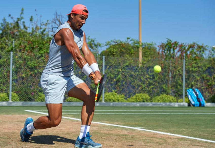 Rafael Nadal sets focus on Wimbledon: 'I love grass when I am fit'
