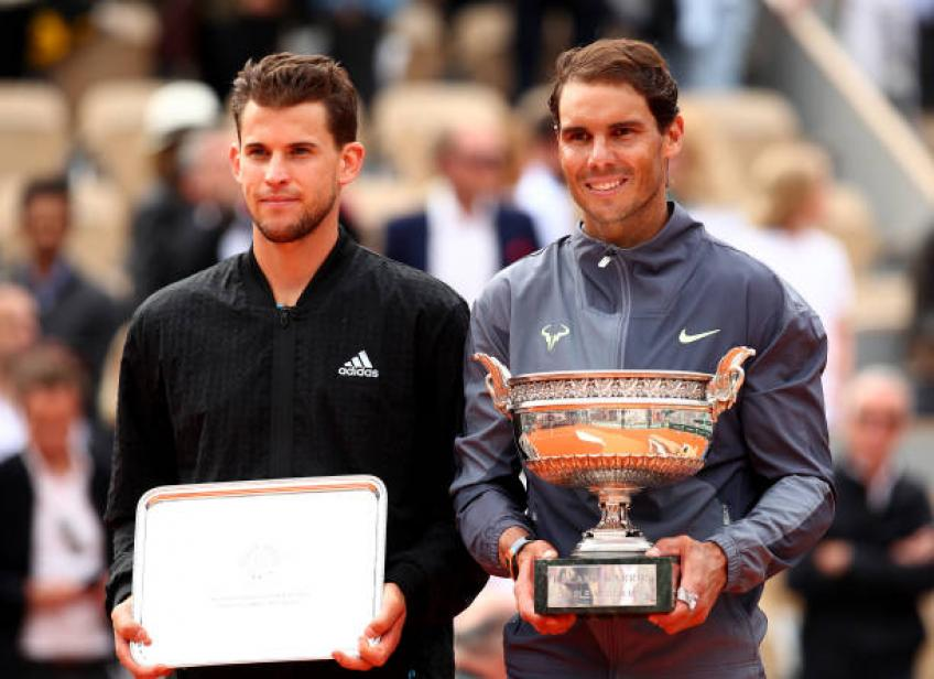 Dominic Thiem: There won't be a new Rafael Nadal again