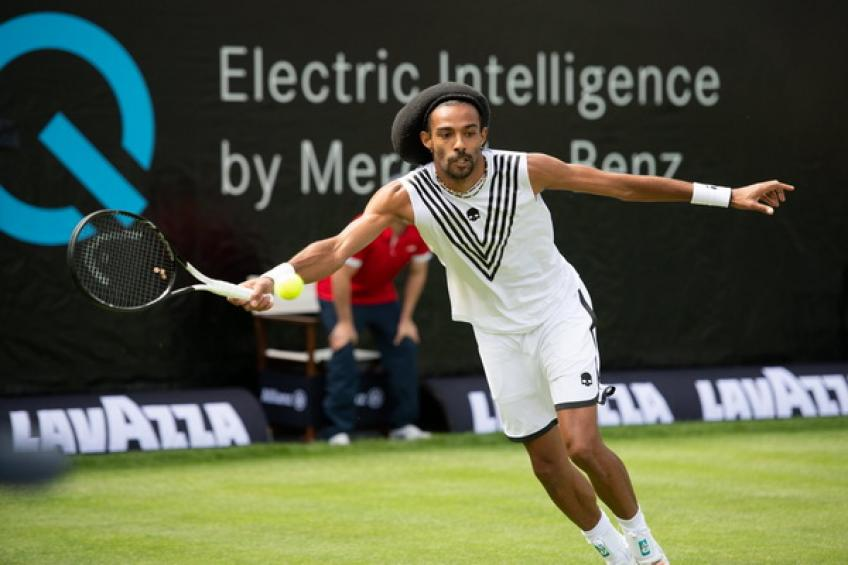 Dustin Brown upsets Alexander Zverev at the Stuttgart Open