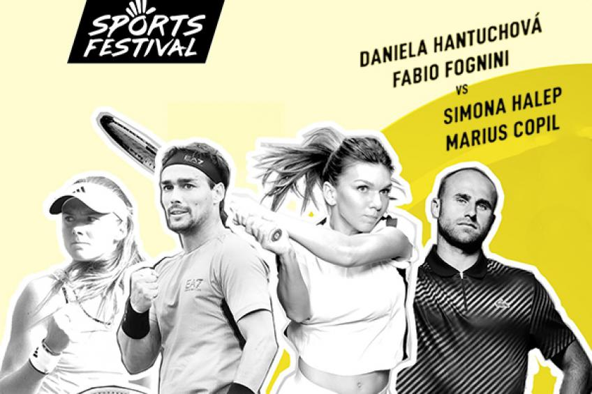 Hantuchova joins Halep, Fognini, Copil and Cahill at Sports Festival 2019