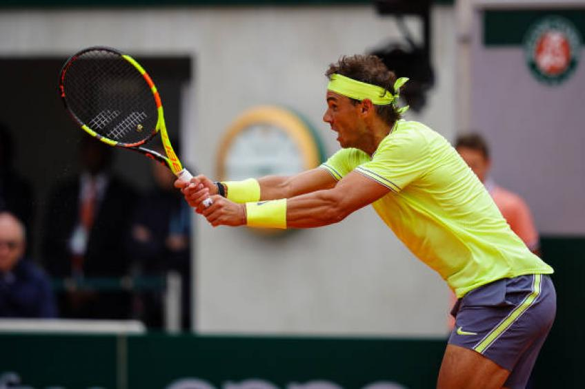 Rafael Nadal has amazing body never gets tired- Muguruza