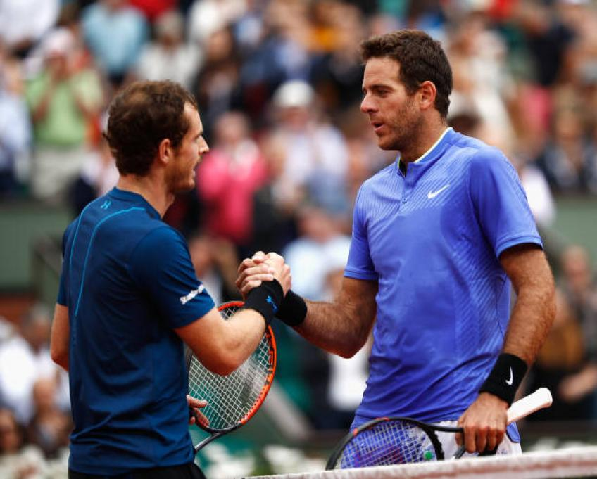 Juan Martin Del Potro: 'Andy Murray has nothing to lose'