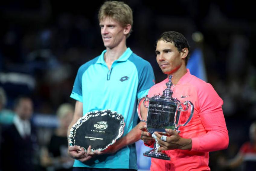 Anderson eyes a Grand Slam title after losing finals to Nadal, Djokovic