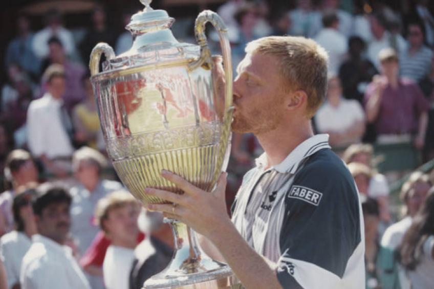 On this day: Boris Becker wins the title at Queen's over Stefan Edberg