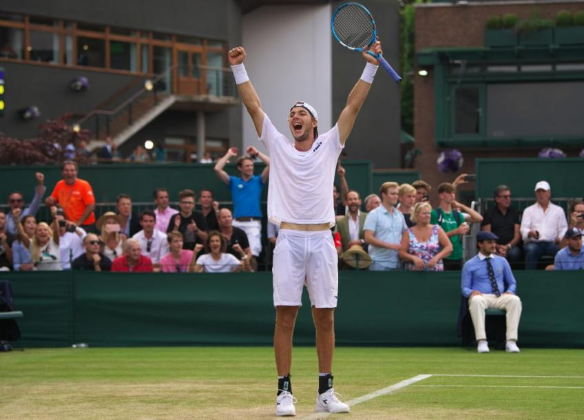 Jan-Lennard Struff happy to break his Halle curse