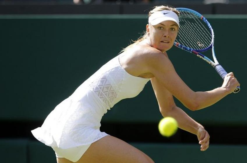 Maria Sharapova on stage again, but Wimbledon was a flop