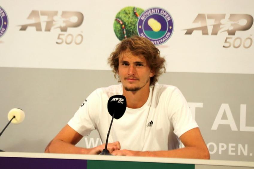 Alexander Zverev overcomes injury scare, will play in Halle on Thursday