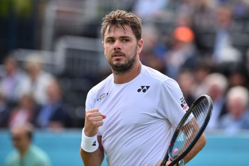Stan Wawrinka: 'Grass at Queens' is perfectly prepared, even after rain'