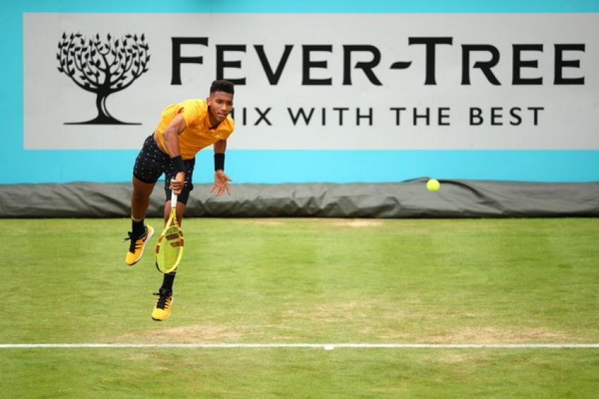 ATP Queen's: Auger-Aliassime set Kyrgios clash. Cilic and Anderson bow out