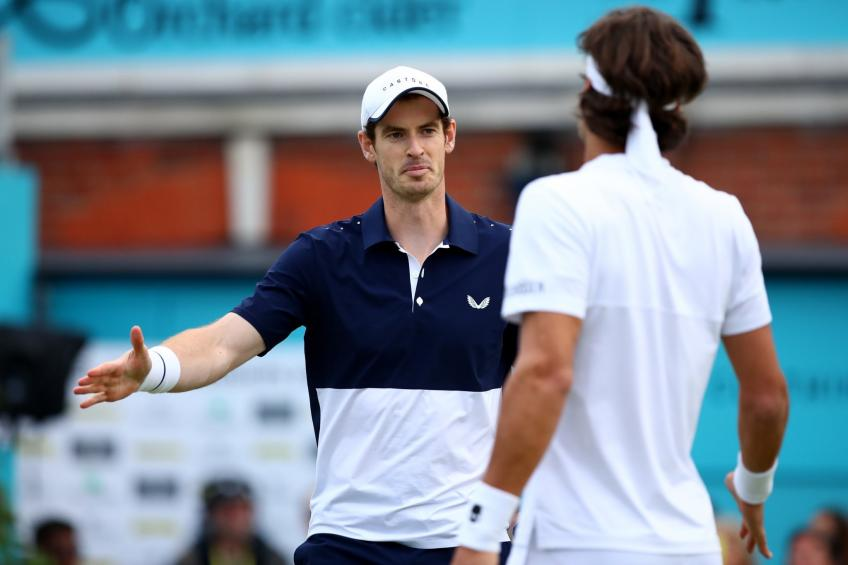 Andy Murray and Feliciano Lopez knock out No. 1 seeds