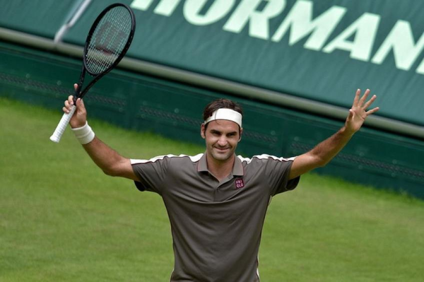ThrowbackTimes Halle: Roger Federer downs Roberto Bautista Agut to reach semis