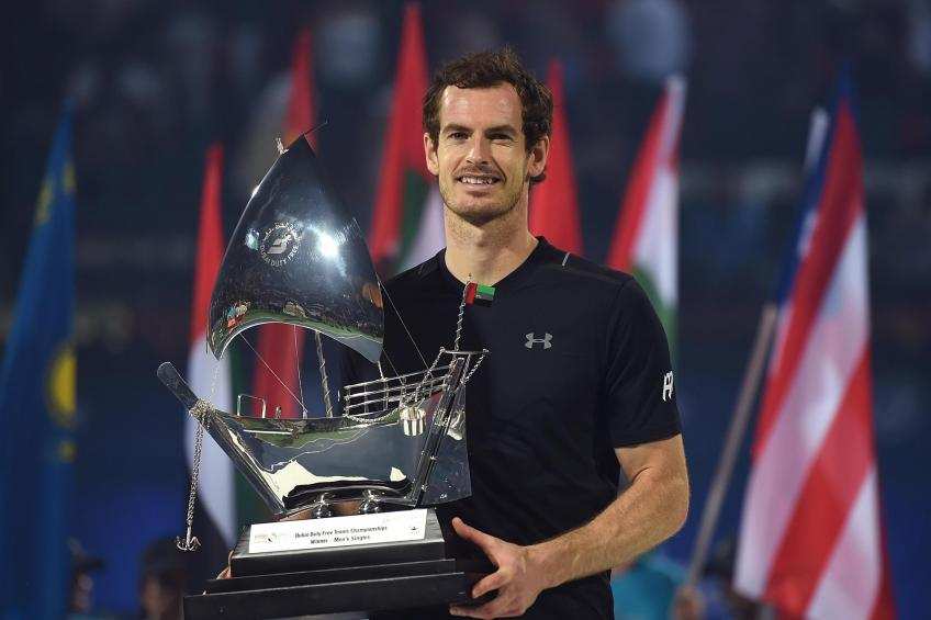 Andy Murray reveals how he wanted to celebrate winning 2017 Dubai title