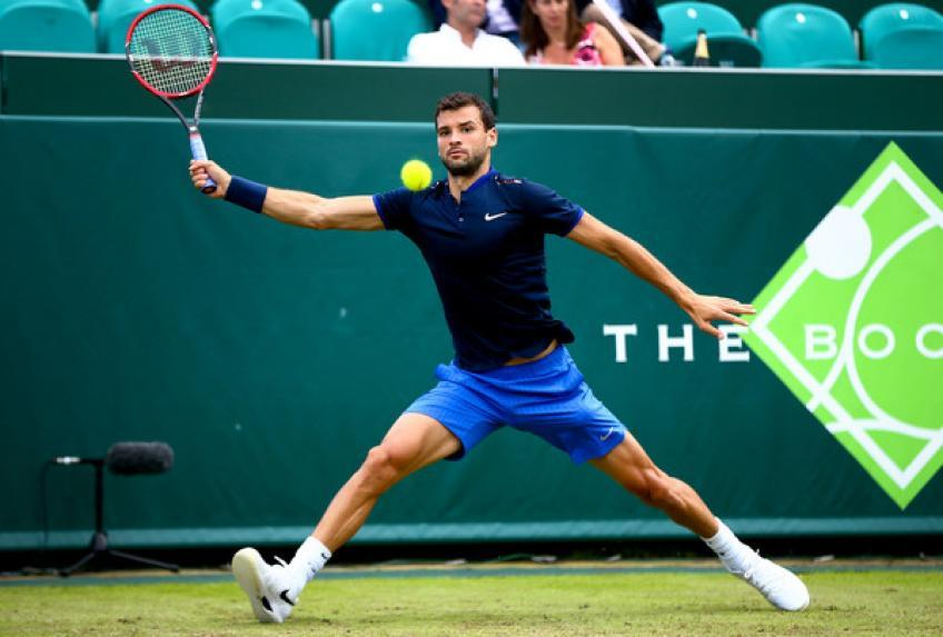 Grigor Dimitrov signs up late to play The Boodles