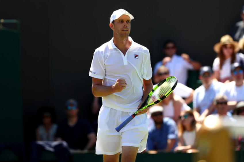 Sam Querrey feels positive vibes after two months off the court